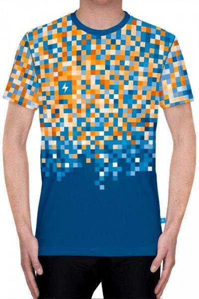 koszulka biegowa z nadrukiem - przód