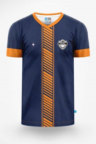 męska koszulka piłkarska