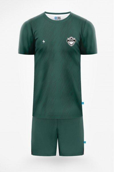 męski strój piłkarski